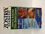 Illegally Sold Diabetes Treatments - Zostrix Diabetic Joint and Arthritis Pain Relief Cream