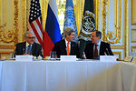 Secretary Kerry, Russian Foreign Minister Lavrov, and UN Special Representative Brahimi Meet in Paris