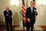 Secretary Kerry Discusses his Visit to the Vatican With the Press Corps