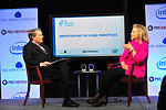 Secretary Clinton Joins Jim Lehrer in a Discussion