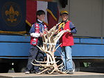 Scouts Disply Antlers