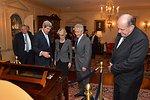 Secretary Kerry Shows Off Thomas Jefferson's Desk
