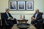 Secretary Kerry Meets With Jordanian Foreign Minister Judeh in Amman