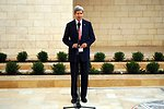 Secretary Kerry Addresses Reporters After Meeting With Palestinian President Abbas