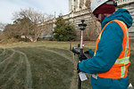 Preparing Capitol Grounds for Capitol Dome Restoration