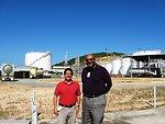 Coordinator for International Energy Affairs David Goldwyn and Ambassador Taylor Pose for a Photo