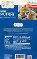RECALLED – Gluten free blueberry mini muffins
