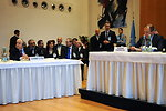 Russian Foreign Minister Lavrov Sits Beside Syrian Foreign Minister Moualem at Geneva II Conference