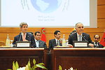 Secretary Kerry and Moroccan Foreign Minister Open Plenary Session of Strategic Dialogue in Rabat