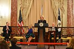 Ambassador Russell Delivers Remarks at her Swearing-In Ceremony