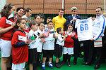 Secretary Kerry Models No. 68 Team U.S.A. World Cup Soccer Jersey in Algiers