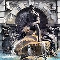 Court of Neptune Fountain at Library of Congress Jefferson Building
