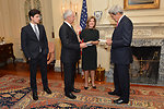Secretary Kerry Hosts a Swearing-In Ceremony for Ambassador Kennedy