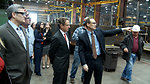 Treasury Secretary Geithner Visits Oregon Iron Works