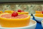 Grapefruit and cherry