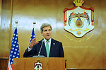 Secretary Kerry Discusses Middle East Issues in a News Conference