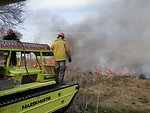 Blackwater Marshmaster at Eastern Neck Wildlife Refuge burn