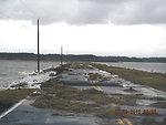 Hurricane Sandy hit Chincoteague National Wildlife Refuge (VA)