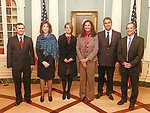 Committee to Protect Journalists Awardees Janet Hinostroza and Nedim Sener With Senior Advisor Tillemann, Assistant Secretary Jacobson, Acting Assistant Secretary Zeya, and Deputy Assistant Secretary Toner