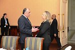 Secretary Clinton Meets With Azerbaijani Foreign Minister Mammadyarov