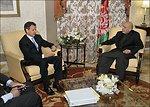 President of Afghanistan Hamid Karzai