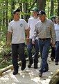Secretary Salazar visits Great Bay National Wildlife Refuge