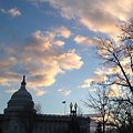 Evening on Capitol Hill.