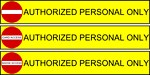 Authorized Personal