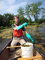 USFWS intern Christopher Poulin