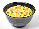 Oyakodon (chicken and egg on rice)