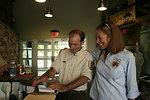 Refuge Manager Ken Sturm and Acting Regional Director Wendi Weber