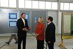 GM Uzbekistan General Director Spendel Discusses the Factory With Secretary Clinton and Uzbek Deputy Prime Minister Rozukulov