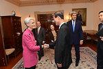 Under Secretary Sherman Greets Republic of Korea Director of National Security Kim Jang-soo