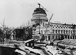 Construction of the U.S. Capitol Dome