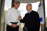 Israeli Prime Minister Netanyahu Welcomes Secretary Kerry to Snowy Jerusalem