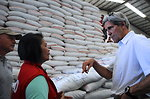 Secretary Kerry Discusses Rice-Distribution Efforts at the Tacloban City Welfare Distribution Center