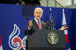 Vice President Biden Delivers Remarks in Seoul