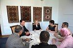 Secretary Clinton Meets With Civil Society Representatives