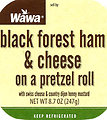 RECALLED - Black Forest Ham and Cheese on a Pretzel Roll