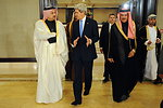 Secretary Kerry Speaks With Qatari Foreign Minister Before Syrian Donors' Conference