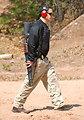Agent Carrying Shotgun