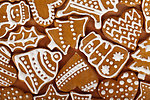 Christmas gingerbread shapes