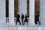 Secretary Kerry and Australian Foreign Minister Bishop Walk to the Tomb of the Unknown Soldier