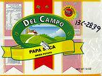 RECALLED – Del Campo Papa seca / DRY POTATO 24x14 oz.