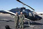 Service's Deputy Director Before Aerial Wildlife Survey