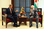 Secretary Kerry Meets With Palestinian Authority President Abbas