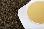 A cup of a green tea