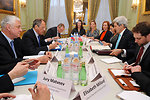 Secretary Kerry, Russian Foreign Minister Lavrov and Teams Hold Ukraine Meeting in Paris