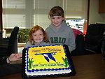 Birthday Cake for Upper Souris Refuge 75th Birthday