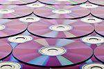 Blank dvds background